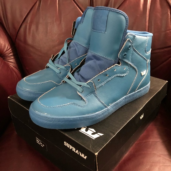 Supra Other - Solid Blue Supra Vaiders